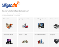 Billiger.de Windows 8 App